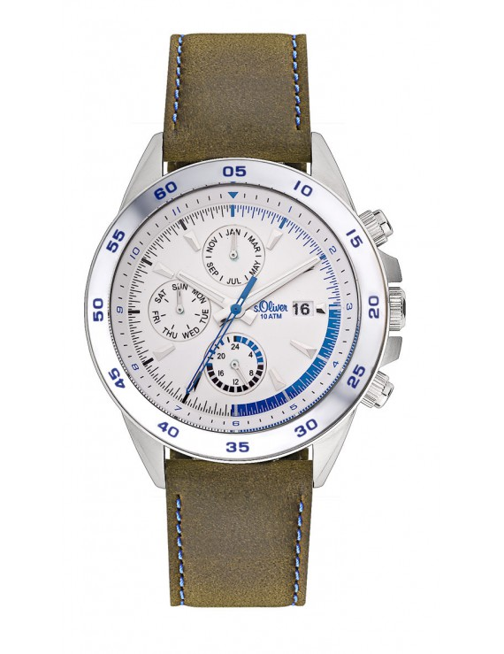 s.Oliver Herrenuhr Multi. SO-1718-LM