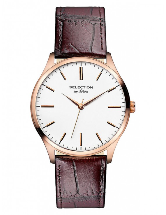 s.Oliver Herrenuhr Selection SO-2534-LQ