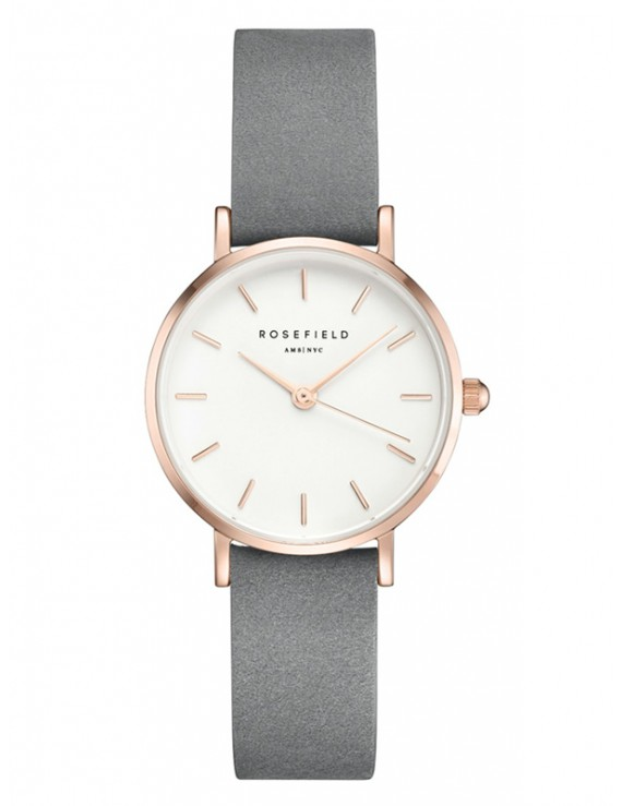 Rosefield Small edit white grey rose gold