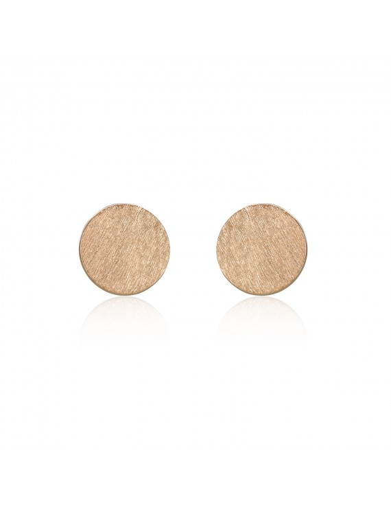 "icrush ""Round"" Ohrstecker Small 925/- rose OS0026R"