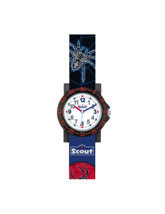 Scout Kinderuhr The IT-Collection 'Spinne, Fledermaus, Stern' 280375020
