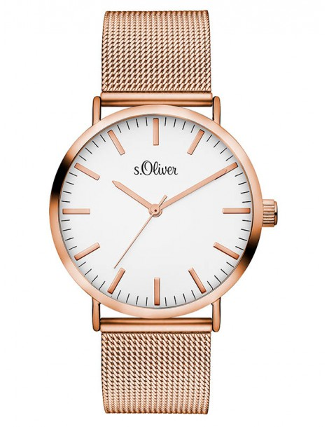 s.Oliver Damen-Armbanduhr SO-3146-MQ